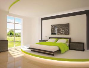 Die Einrichtung des Schlafzimmers